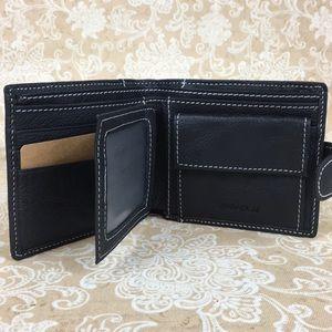 Jinbaola Bags - Jinnaolai Black Leather Wallet